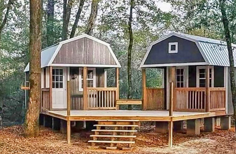 The 'We-Shed' Is a Dual Shed For Him and Her In San Antonio
